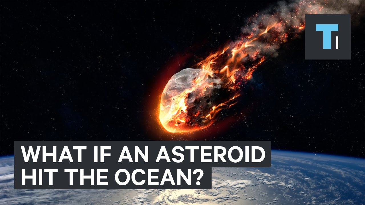 Animation reveals what would happen if an asteroid hit the ...