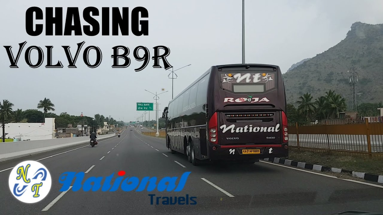 Chasing National Travels Volvo B9r 9400 Bus Roja Rcbuses