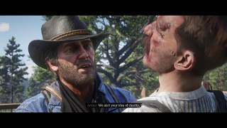Red Dead Redemption 2 (PS4) - How Arthur Contracted Tuberculosis