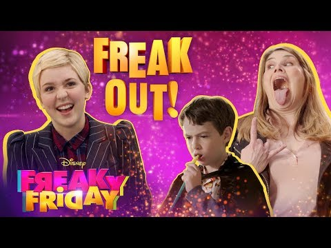 Freak Out Music Video 😜 | Freaky Friday | Disney Channel