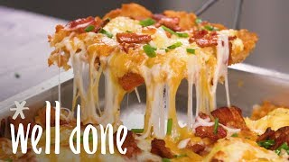 How to Make Breakfast Pizza | Recipe | Well Done
