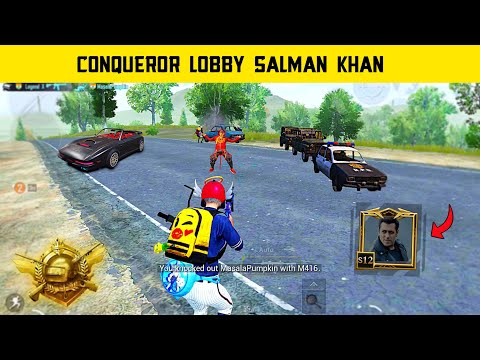 😤Salman Khan से भी खतरनाक - They Conqueror Player's Think I'm Noob In Pubg Mobile - Legend X