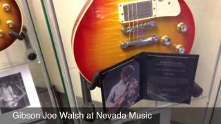 Gibson Custom Shop Joe Walsh Les Paul At Nevada Music UK
