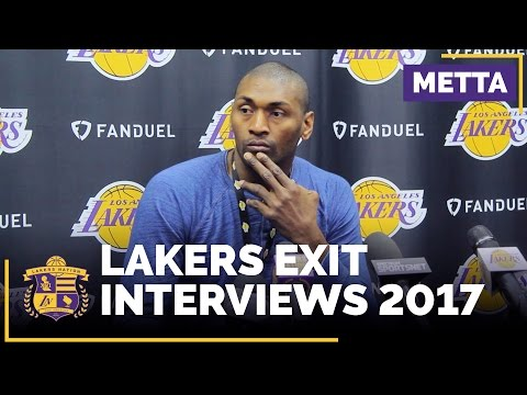 Lakers Exit Interviews (2017): Metta World Peace Says Lakers Won't Bring Him Back Next Year