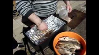 Как коптить рыбу правильно, быстро и вкусно.