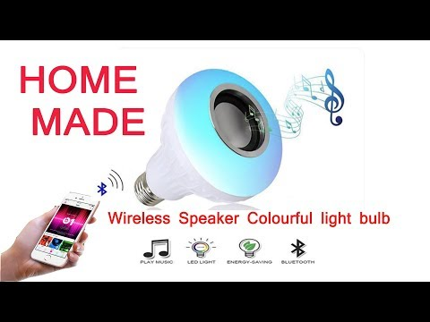 How to Make Smart Bulb Music color bulb at home