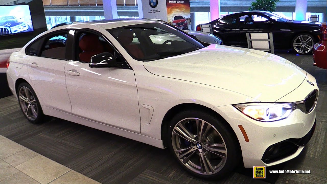 2016 Bmw 428i Xdrive Gran Coupe Exterior And Interior Walkaround Ottawa Gatineau Auto Show