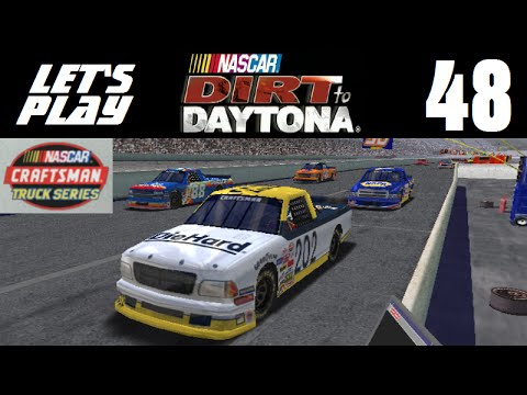 Let's Play NASCAR Dirt to Daytona - Part 48 - Y5R2 - Darlington Raceway