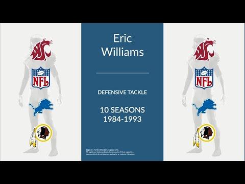 Eric Williams: Football Defensive Tackle