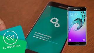 Galaxy A3 2016 recibe actualización Android 7 Nougat | El recuento
