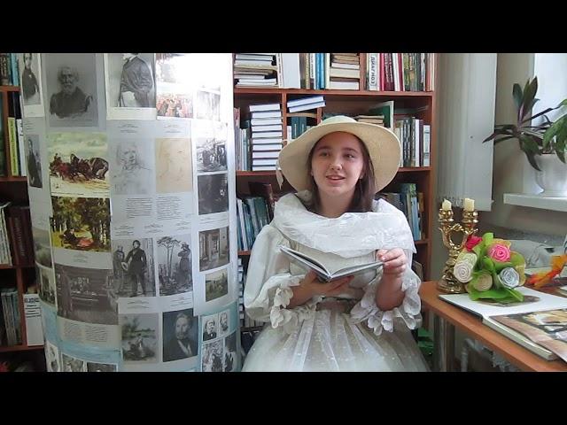 Изображение предпросмотра прочтения – ВикторияДашкина читает произведение «Как хороши, как свежи были розы ...» И.С.Тургенева