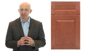 Niron Depot Presents The Fabuwood Value Hallmark Pecan Kitchen Cabinet