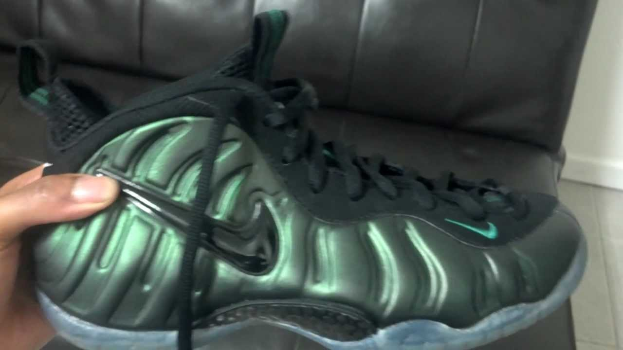 df98afa5405 Pine Green Foamposites - YouTube