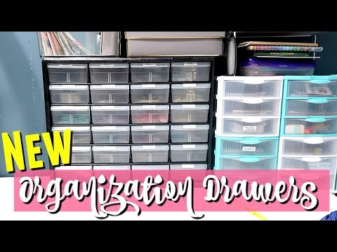 ORGANIZING MY HOME OFFICE DESK WITH NEW...