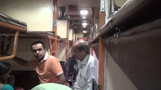 GARIB RATH EXPRESS - BRAND NEW 3AC COACH FROM INSIDE !!!!!!