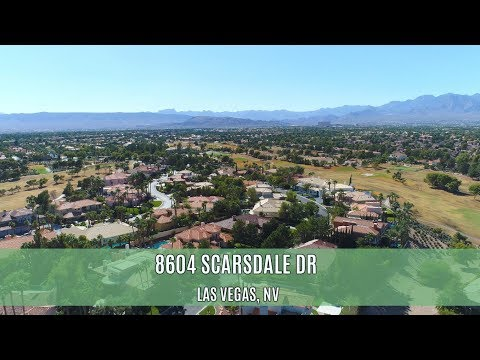 8604 Scarsdale Dr, Las Vegas, NV - Canyon Gate Country Club Luxury Home