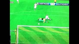 Immobile GOAL Borussia Dortmund - Galatasaray 3-1 Champions League 04.11.2014