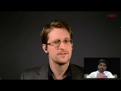 Edward Snowden talks about the case of Chelsea Manning  - 15th of January - acTVism Munich
