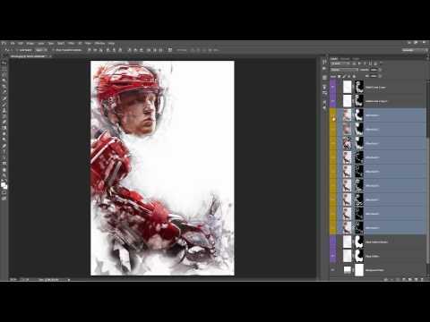 ModernArt Photoshop Action Tutorial