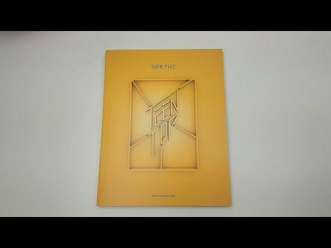 Unboxing Teen Top 틴탑 2nd Studio Album High Five 하이 파이브 (Offstage Version)