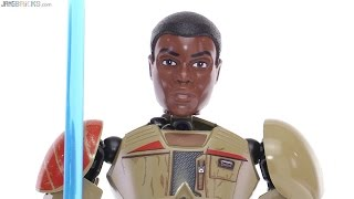 LEGO Star Wars Finn action figure review! 75116