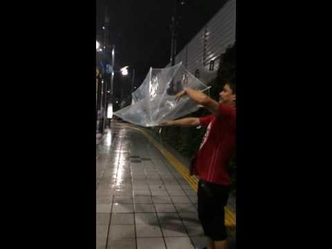 Japan Heavy rain forecast as typhoon Tokyo Sinjuku