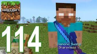 Minecraft PE - Gameplay Walkthrough Part 114 - Herobrine Addon iOS, Android