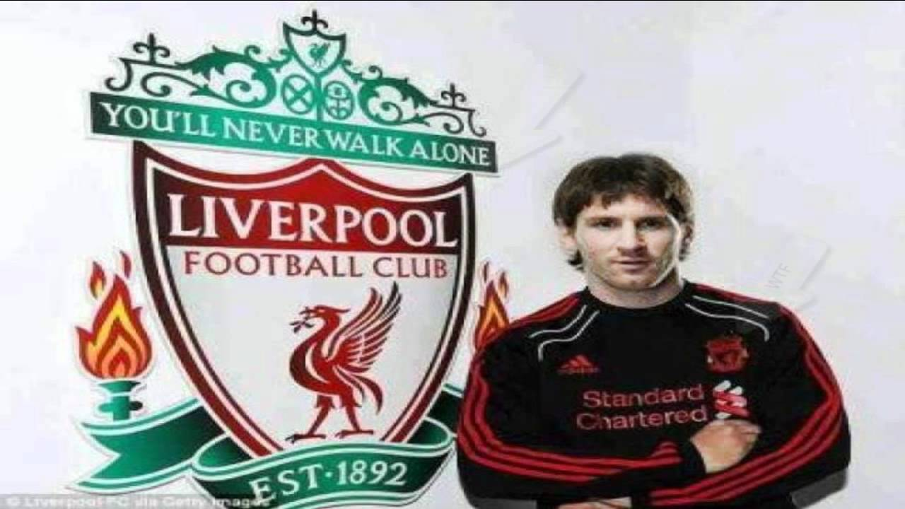 buy online c3475 85edd What is this ! Lionel Messi in Liverpool FC