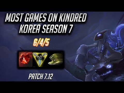 Korean Diamond 1 Kindred Main | Patch 7.12