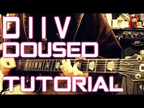 DIIV - Doused (Guitar Tutorial)
