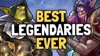 The 10 BEST LEGENDARY CARDS of All Time | Hearthstone