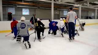 Техническая подготовка игроков КХЛ