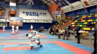 Гутник vs Михайлов  ( 14-15 лет , до 52 кг ) в конце скорпион !