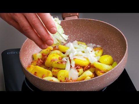 des-frites-savoureuses-en-5-min-avec-des-pommes-de-terre,-des-oignons-et-du-bacon-|-savoureux.tv