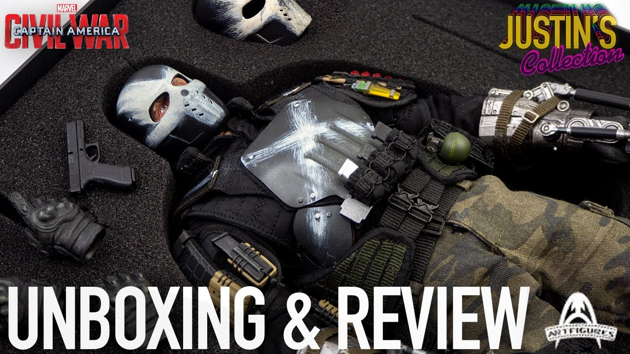 Download Crossbones Captain America Civil War Art Figures The Mercenary 1/6 Scale Figure Unboxing & Review