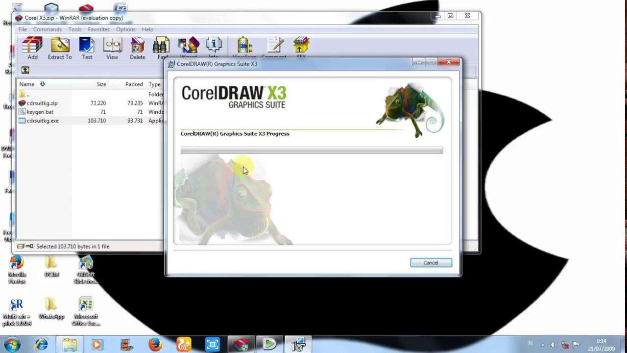 CorelDraw Graphics Suite X3 Free Download