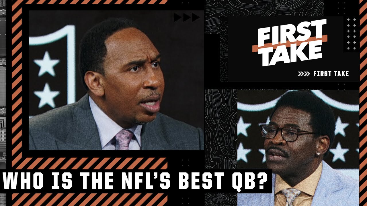 Download Stephen A. & Michael Irvin debate the NFL's best QB   First Take