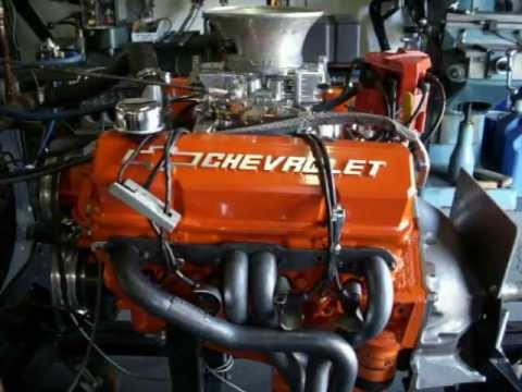 Chevy 383 Stroker 426HP High Performance Engine - YouTube