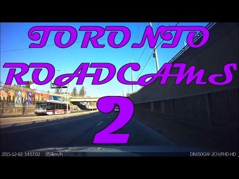 Toronto Roadcams Dash Cam Compilation Vol 2