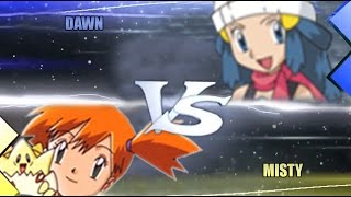 Pokemon Omega Ruby & Alpha Sapphire [ORAS]: Misty Vs Dawn