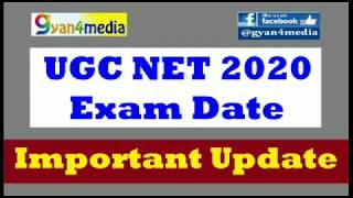 UGC NET Exam Update || Exam Date|| Important Information