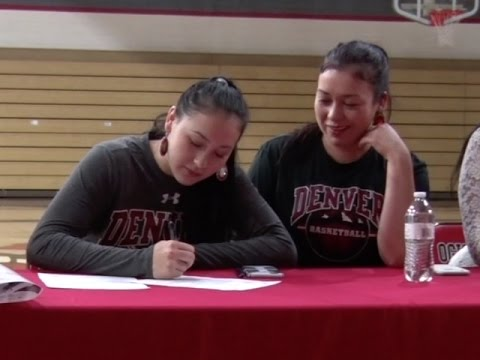 Red Lake's Grace White Signs With University Of Denver