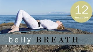 Breathing Exercise for Anxiety | Lower Belly Breathing Part 1