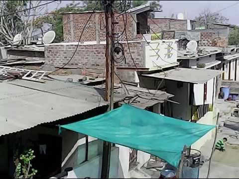 Nousarabad colony dewas mp by drone video by Anas Khan