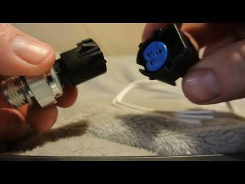 Oil Pressure Sensor  Wire Cap Removal 2012 Chevy  Silverado V8 5.3L