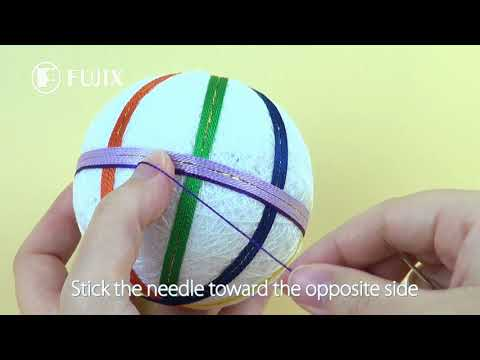 How To Stitch AMEDAMA TEMARI