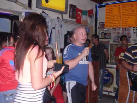 Turkey 2013 @ The Dubliner's Karaoke Bar Kusadasi