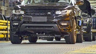 Range Rover (2018) PRODUCTION LINE – English Car Factory