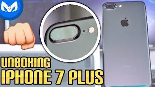 iPHONE 7 PLUS UNBOXING NUEVO COLOR!