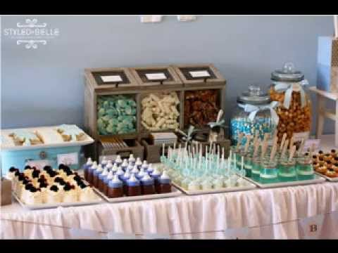 cheap baby shower food decor ideas youtube